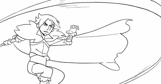 Fan art of Trevor Belmont from Castlevania in the style of Disney's The Owl House drawn by Spencer Wan