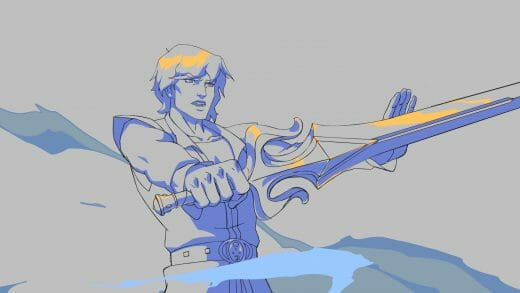 Prince Adam from Masters of the Universe: Revelation.